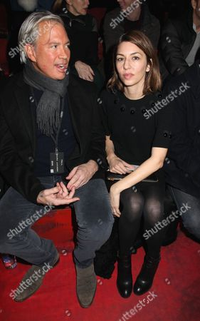 Stock Picture of Robert Duffy and Sofia Coppola