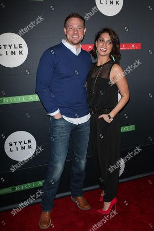 Tye Strickland and Melissa Rycroft