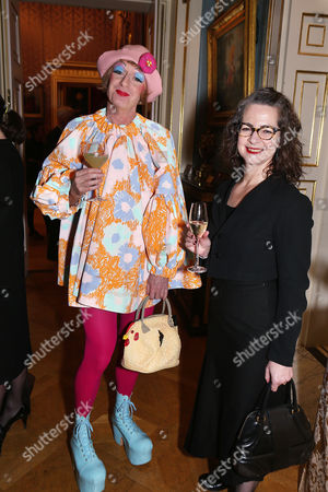Grayson Perry and Dr Frances Corner
