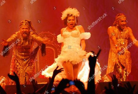 "Concert at G-A-Y in London. ""Army of Lovers""  Alexander Bard, Dominika Peczynski, Jean-Pierre Barda"
