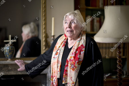 Stock Picture of Fay Weldon