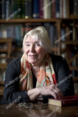 Stock Photo of Fay Weldon
