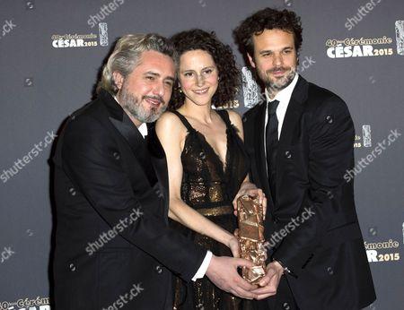 Editorial picture of 40th Cesar Film Awards, Paris, France - 20 Feb 2015