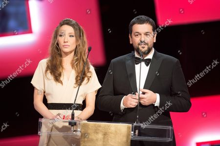 Laura Smet and Joann Sfar