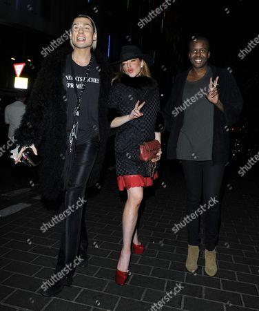 Lindsay Lohan and Vaz Morgan