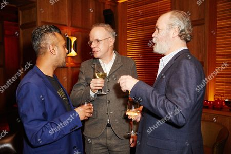 Stock Picture of Shumon Basar, Douglas Coupland and Hans-Ulrich Obrist