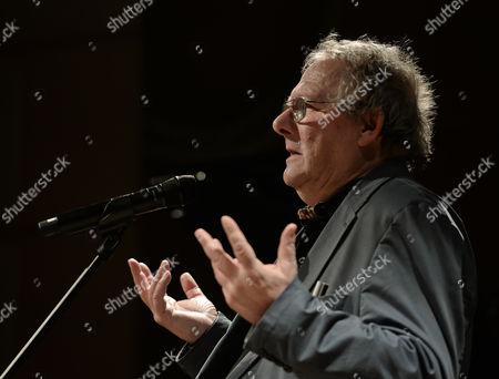 Adam Michnik, a Polish historian, essayist, former dissident, public intellectual, and the editor-in-chief of Poland's largest newspaper Gazeta Wyborcza