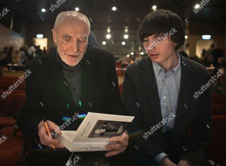 Editorial photo of An evening of Stanislaw Baranczak poetry, Museum of Japanese Art and Technology in Krakow Manggha. Krakow, Poland - 19 Feb 2015