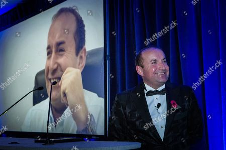 Editorial image of Manchester Business Awards at the Midland Hotel in Manchester, Britain  - 06 Nov 2014