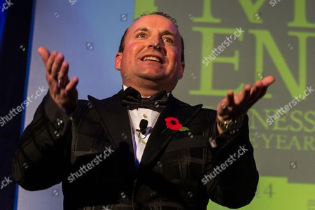 Stock Photo of Dave Fishwick of the Bank of Dave