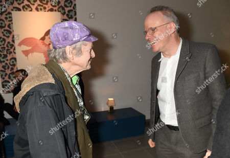 Michael Horovitz and Hans-Ulrich Obrist