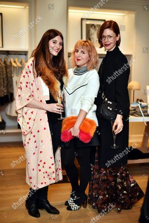 Ellie Stephens, Piera Gelardi and Christene Barberich