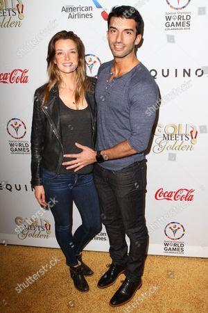 Justin Baldoni and Emily Foxler