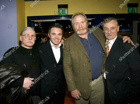 TAM WHITE, ALEX FERNS, JAMES COSMO AND TOM GEORGESON