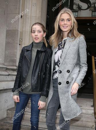 Donna Air and daughter Freya Air Aspinall