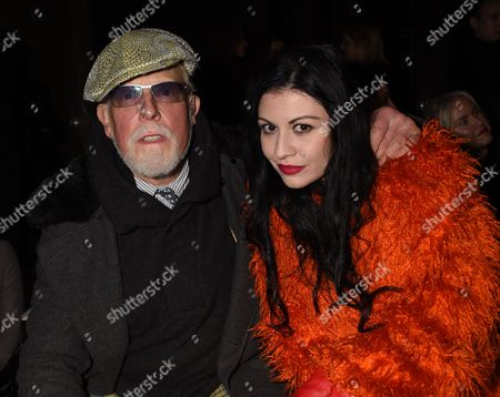Anthony Price and Nefer Suvio on the front row