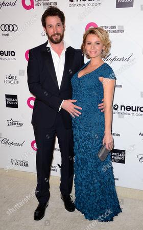 Noah Wyle and Sara Wells
