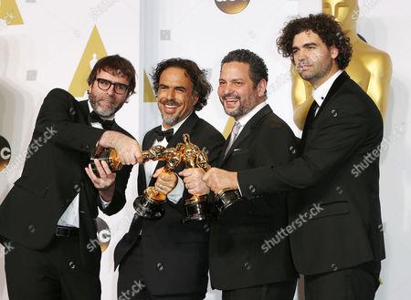 Nicolas Giacobone, Alejandro Gonzalez Inarritu, Alexander Dinelaris, Armando Bo