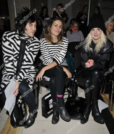 Noel Fielding, Lliana Bird and Alison Mosshart