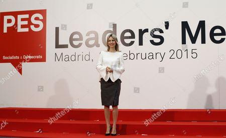 Leader of the Alliance of the Democratic Left Polish Magdalena Ogorek