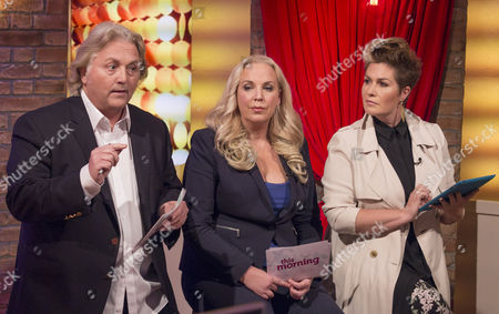 David Emanuel, Ashley Pearson and Gemma Sheppard