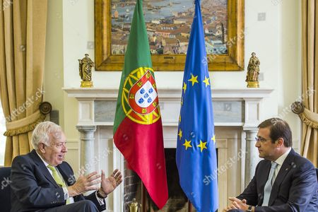 Portuguese Prime Minister Pedro Passos Coelho meets with Minister of Foreign Affairs and Cooperation of Spain, Jose Manuel Garcia-Margallo