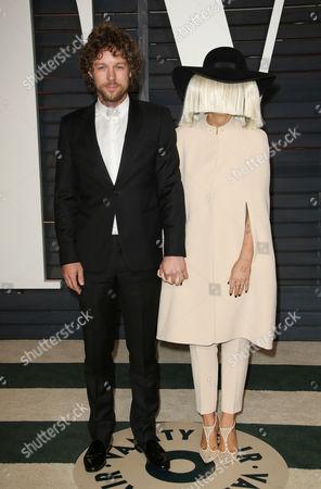Erik Anders Lang and Sia Furler