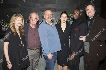 Sonia Friedman (Producer), David Calder (Doyle), Stanley Townsend (Sims), Amanda Hale (Morris), Ivanno Jeremiah (Woodnut) and Jeremy Herrin (Director)
