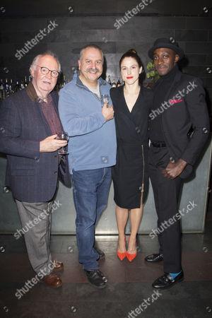 David Calder (Doyle), Stanley Townsend (Sims), Amanda Hale (Morris) and Ivanno Jeremiah (Woodnut)