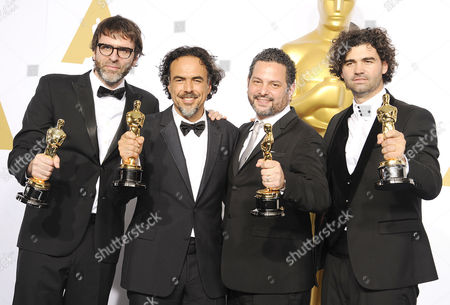 Alejandro Gonzalez Inarritu, Alexander Dinelaris, Nicolas Giacobone, Armando Bo