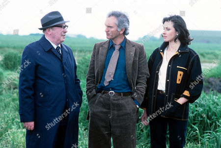 Stock Picture of George Pravda, Terence Stamp and Carmen Du Sautoy