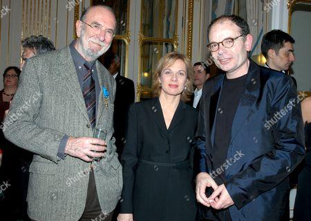 JEAN PIERRE MARIELLE, JEAN PIERRE DAROUSSIN AND FRIEND