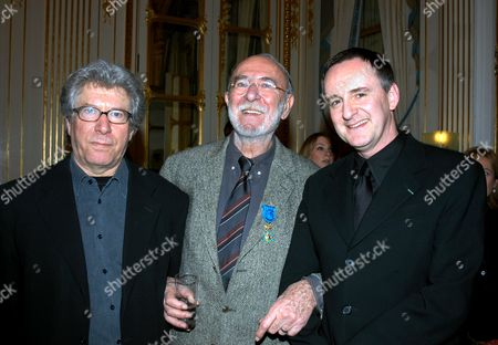 CLAUDE MILLER, JEAN PIERRE MARIELLE AND YVES JACQUES