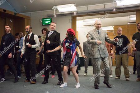 Editorial photo of Lindy Hop dance class to launch Dance Manifesto, Portcullis House, London, Britain - 23 Feb 2015