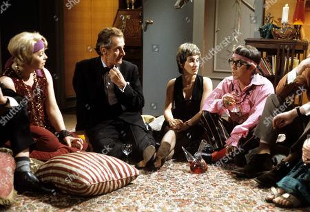 Rosemary Leach, Hugh Latimer, Carole Allen and Ronnie Corbett