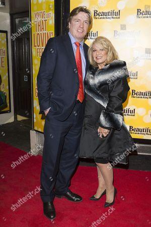 Justin Mallinson and Elaine Paige