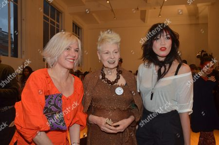 Stock Picture of Sara Stockbridge, Vivienne Westwood and Daisy Lowe