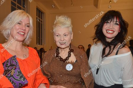 Sara Stockbridge, Vivienne Westwood and Daisy Lowe
