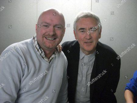 David Oldbury meeting Dennis Lawson