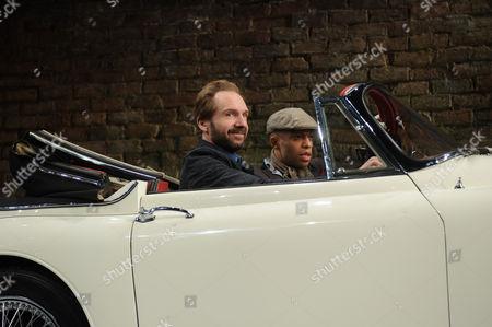 Ralph Fiennes (Jack Tanner) and Elliott Barnes-Worrell (Straker)