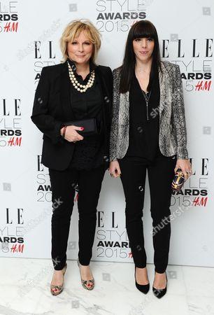 Jennifer Saunders and daughter Ella Edmondson