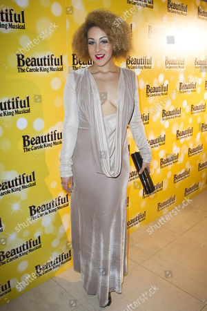 Danielle Steers (Ensemble) attends the after party on Press Night for Beautiful - The Carole King Musical at Somerset House, London, England on 24th February 2015. (Credit should read: Dan Wooller/wooller.com). Paid use only. No Syndication