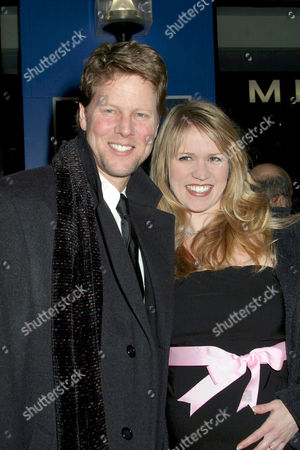Alan Campbell with his wife Lauren Kennedy