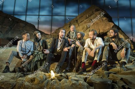 Editorial picture of 'Man and Superman' Play by George Bernard Shaw in the Olivier Theatre at the Royal National Theatre, London, Britain - 24 Feb 2015