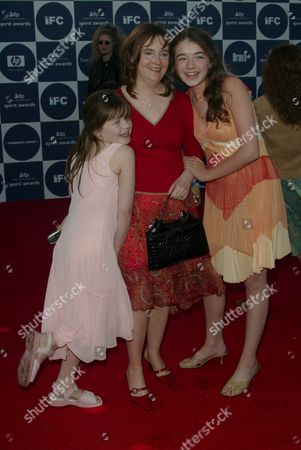 Sarah and Emma Bolger with mother