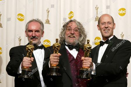 Winners Grant Major, Dan Hennah and Alan Lee