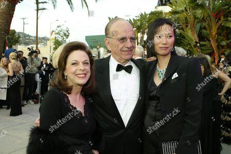Wendy Goldberg Rupert Murdoch and Wendi Deng