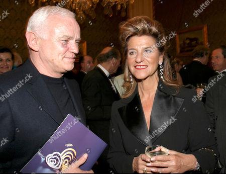 Werner Baldessarini and Agnes Baltsa