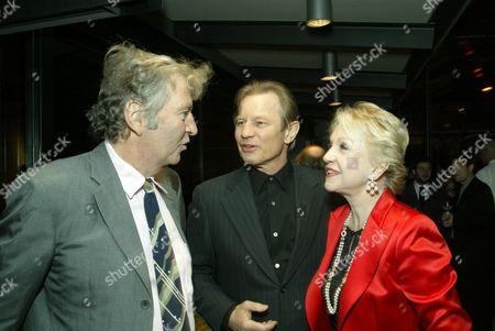 Bob Shaye, Michael York and wife Patricia McCallum