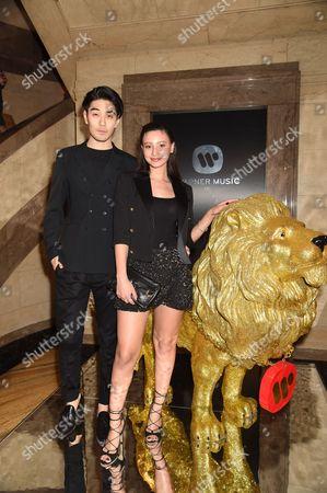 Tomo Kurata and Leah Weller